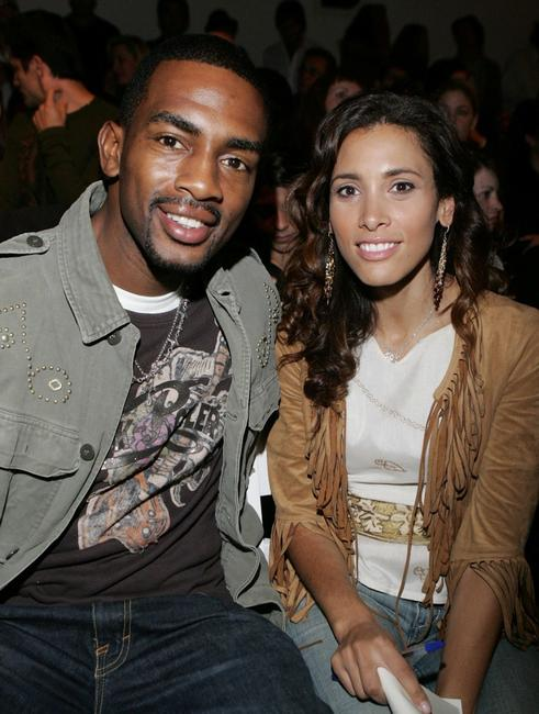 Bill Bellamy and Kristen Bellamy at the Ya-Ya Spring 2006 show during the Mercedes-Benz Fashion Week.