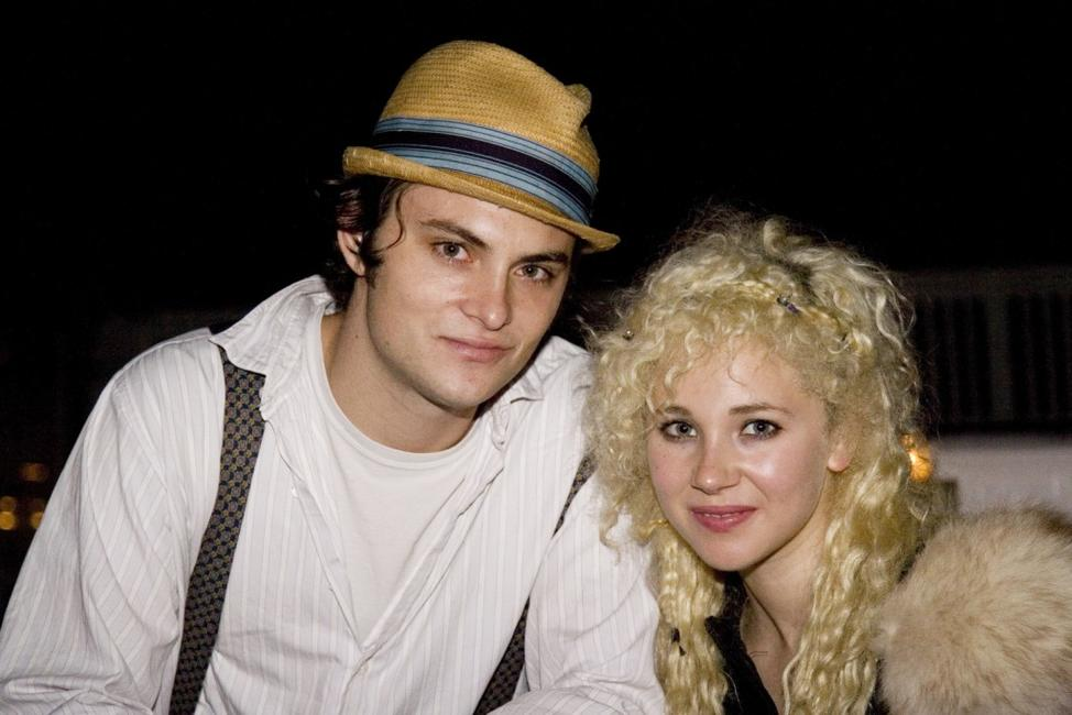 Shiloh Fernandez and Juno Temple at the Bluhammock Music's 2nd Annual Blu Party and Fundraiser.
