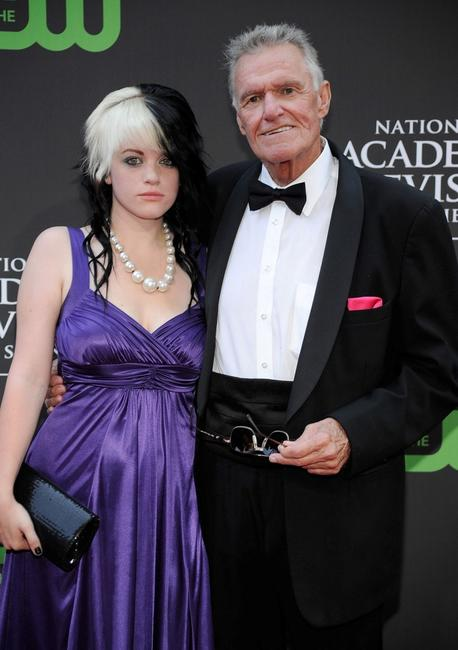 Megan Napier and Charles Napier at the 36th Annual Daytime Emmy Awards.