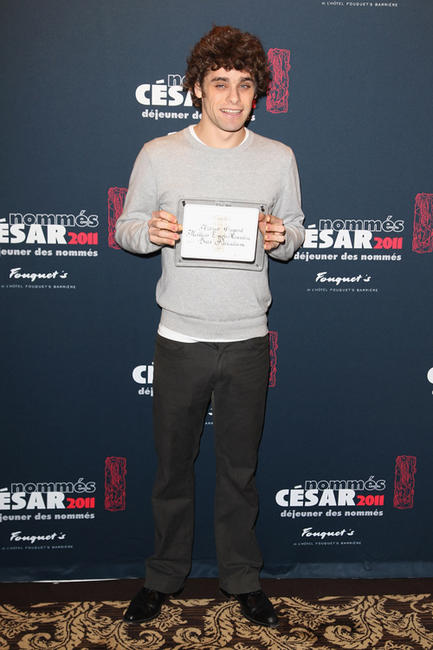Arthur Dupont at the Cesar 2011 Nominee Lunch in Paris.