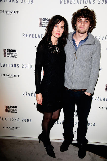 Anne Parillaud and Arthur Dupont at the Chaumet's Cocktail party and dinner for Cesar's Revelations 2009 in Paris.