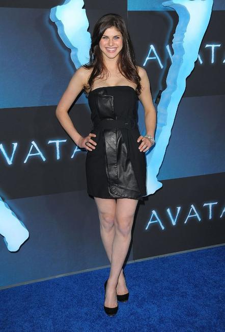 Alexandra Daddario at the Los Angeles premiere of