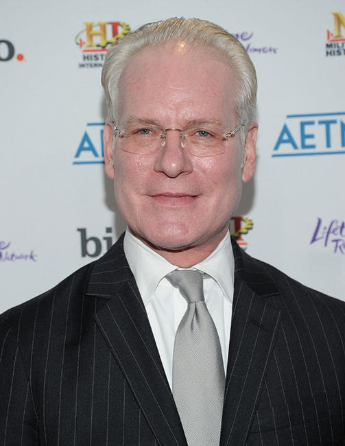 Tim Gunn at the 2010 A&E Upfront in New York.