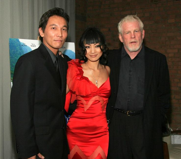 Nick Nolte, Damien Nguyen and Bai Ling at the