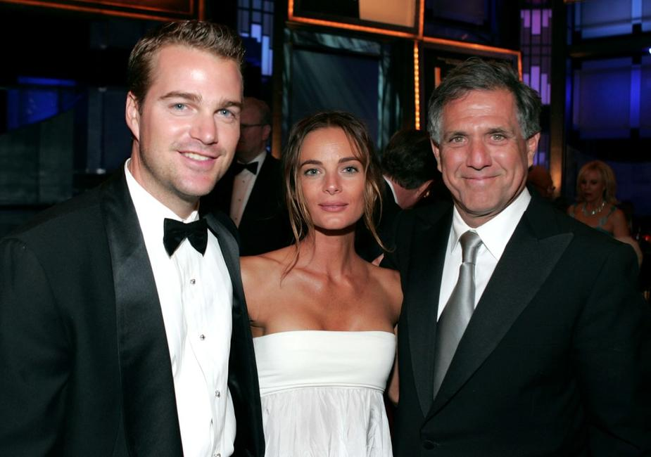 Chris O'Donnell, Gabrielle Anwar and Les Moonves at the 35th AFI Life Achievement Award tribute to Al Pacino.