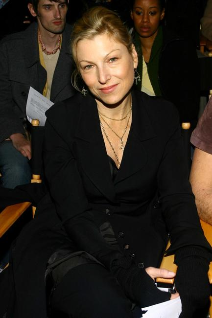 Tatum O'Neal at the Buckler Fall 2007 fashion show during Mercedes-Benz Fashion Week.