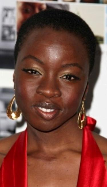 Danai Gurira at the red carpet screening of