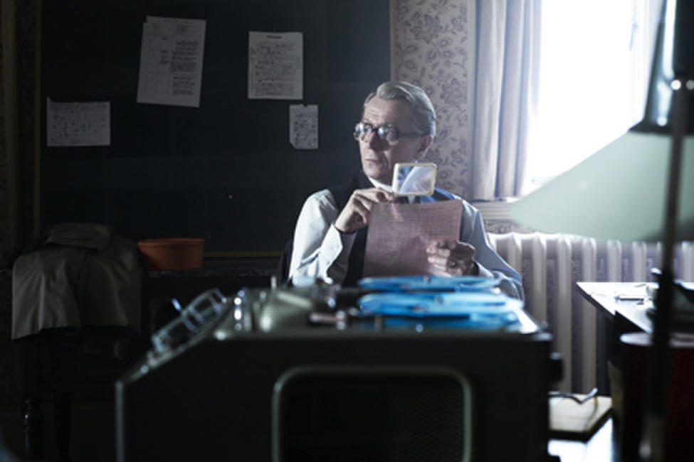 Gary Oldman as George Smiley in