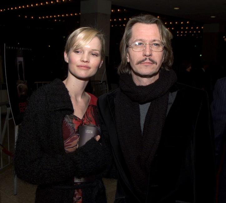 Gary Oldman and Ailsa Marshall at the Los Angeles premiere of