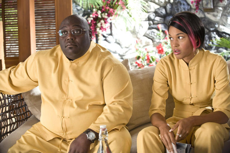 Faizon Love and Kali Hawk in