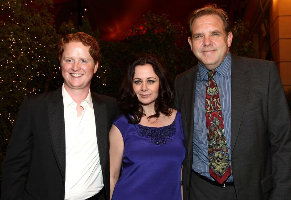 Christopher Carley, Geraldine Hughes and Brian Howe at the world premiere of
