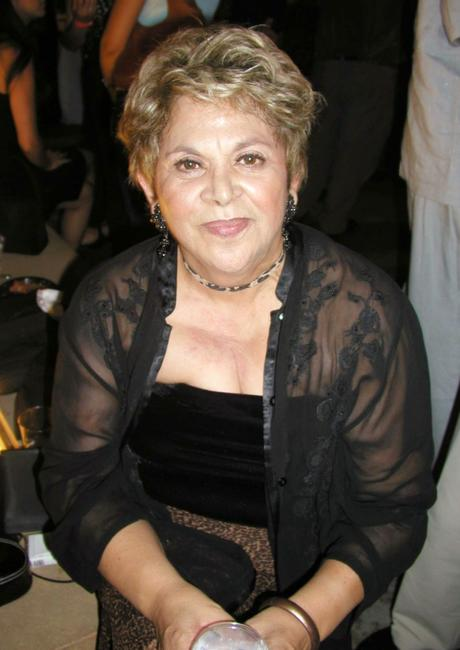Lupe Ontiveros at the after-party for The 7th Annual Los Angeles Latino International Film Festival.