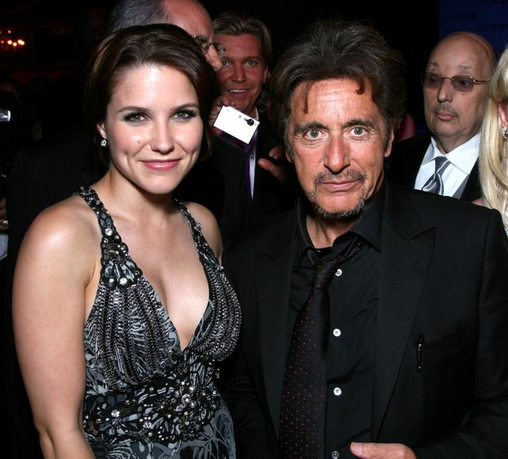 Al Pacino and Sophia Bush at the party for the 35th AFI Life Achievement Award.