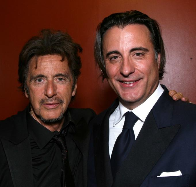 Al Pacino and Andy Garcia at the party for the 35th AFI Life Achievement Award.