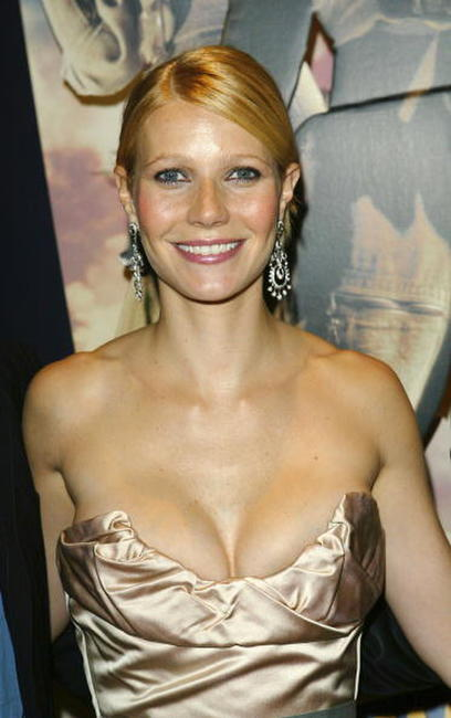 "Gwyneth Paltrow at the UK Premiere of ""Sky Captain & The World Of Tomorrow"" in London, England."