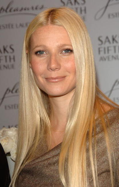 Gwyneth Paltrow at the Saks Fifth Avenue & Estee Lauder's 'Pleasures' in Beverly Hills, California.