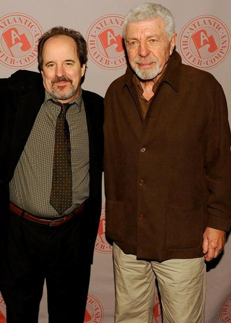 John Pankow and J.J. Johnston at the after party of the opening of