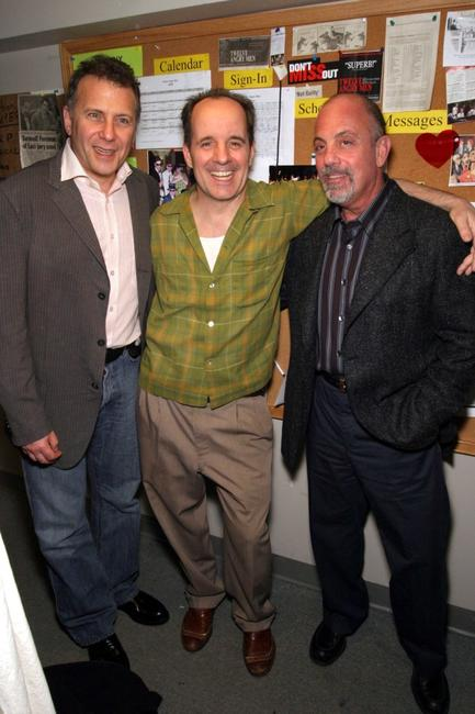 Paul Reiser, John Pankow and Billy Joel at the premiere of