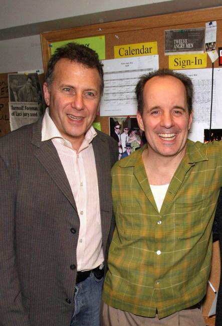 Paul Reiser and John Pankow at the premiere of