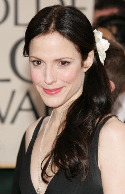 Mary-Louise Parker at the 63rd Annual Golden Globe Awards in Beverly Hills.
