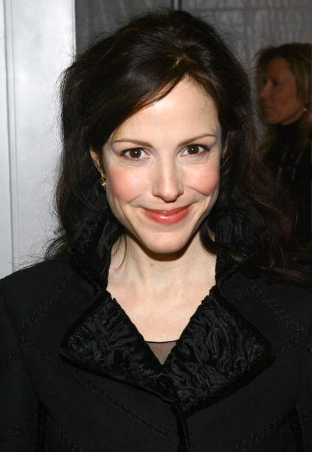 Mary-Louise Parker at the J Mendel Fall 2007 fashion show during Mercedes-Benz Fashion Week in N.Y.