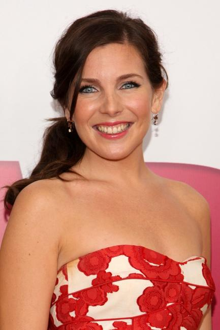 June Diane Raphael at the world premiere of