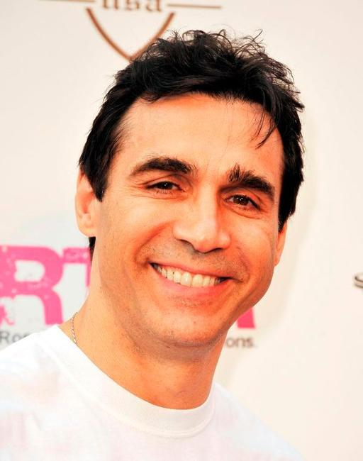 Adrian Paul at the launch of the Lollipops and Rainbows Foundation.