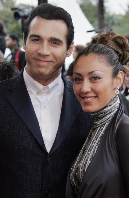 Adrian Paul and Guest at the screening of