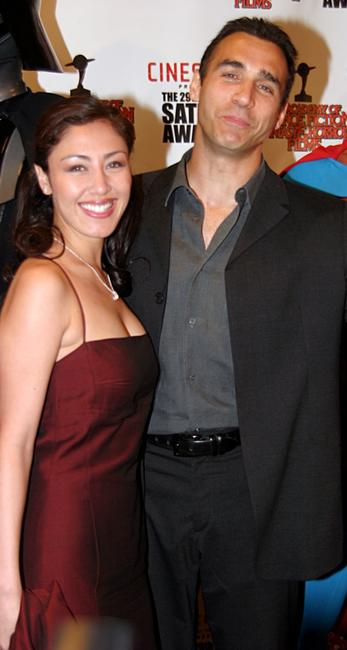 Adrian Paul and Guest at the 29th Annual Saturn Awards.