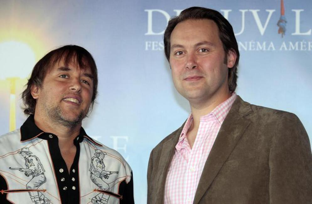Director Richard Linklater and Christian McKay at the photocall of
