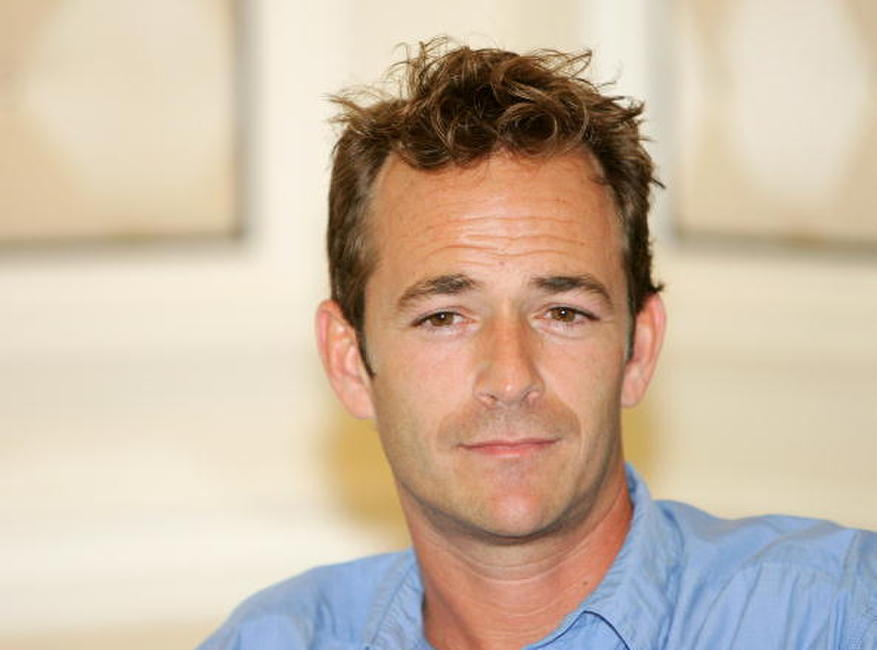 Luke Perry at the Video Software Dealers Association's annual home video convention.
