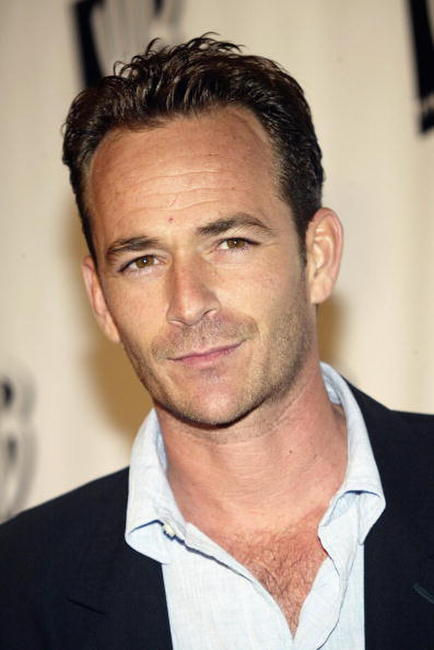 Luke Perry at the WB 2005 Television Critics Winter Press Tour Party.