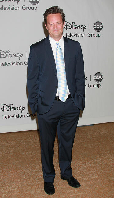 Matthew Perry at the Disney ABC Television Group's 2010 Summer TCA Panel in California.