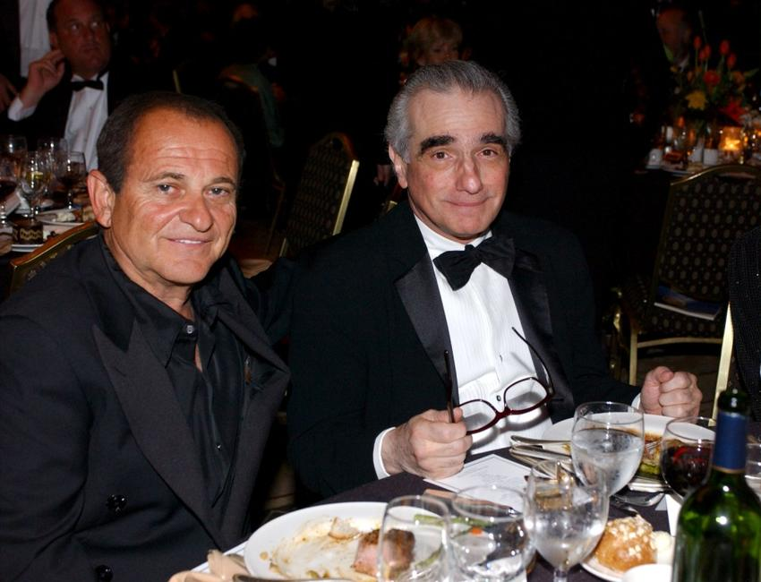 Joe Pesci and director Martin Scorsese at the 55th Annual Directors Guild Awards.