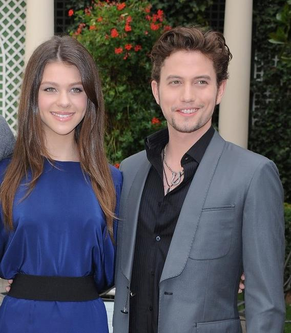 Nicola Peltz and Jackson Rathbone at the photocall of