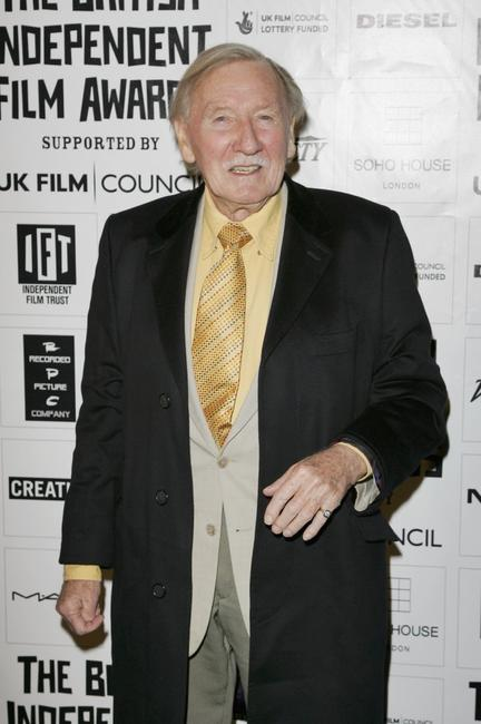 Leslie Phillips at the British Independent Film Awards.