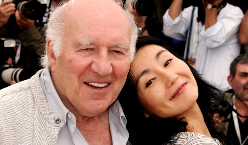 Michel Piccoli and Maggie Cheung at the Films Jury photocall of 60th International Cannes Film Festival.