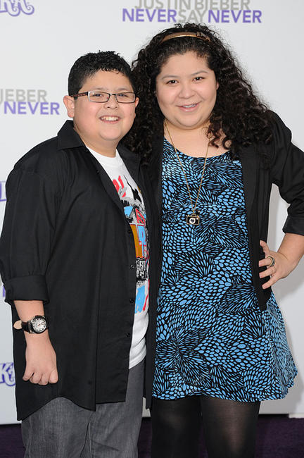 Rico Rodriguez and Raini Rodriguez at the California premiere of