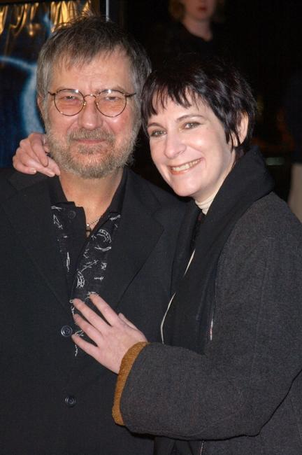 Tobe Hooper and Amanda Plummer at the premiere of