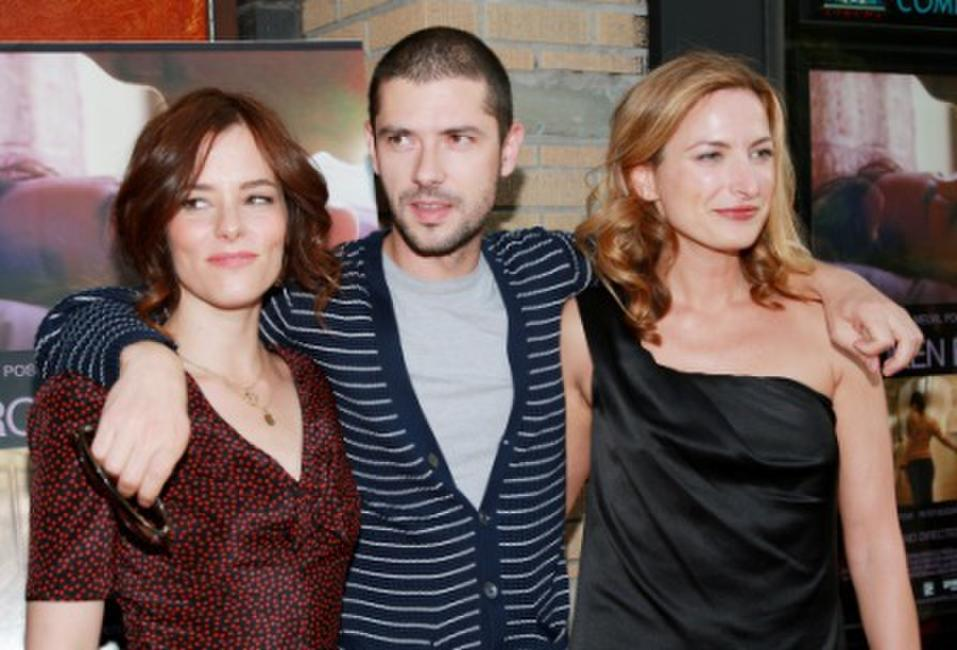 Parker Posey, Melvil Poupaud and director Zoe Cassavetes at the premiere of