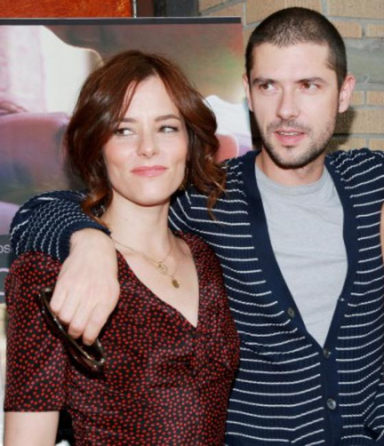 Parker Posey and Melvil Poupaud at the premiere of