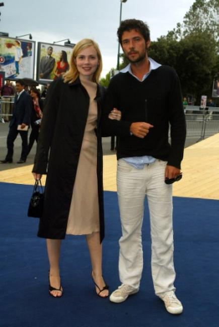 Isabelle Carre and Melvil Poupaud at the screening of