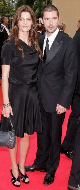 Chiara Mastroianni and Melvil Poupaud at the premiere of