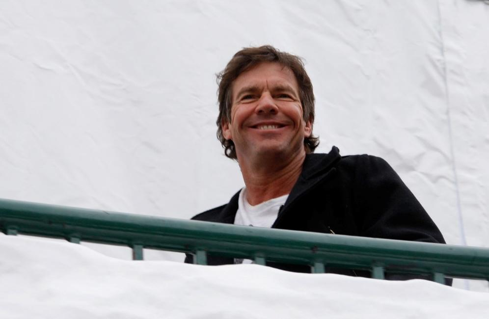 Dennis Quaid at the 2008 Sundance Film Festival.