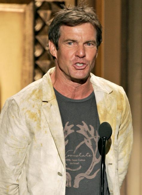 Dennis Quaid at the musical tribute of