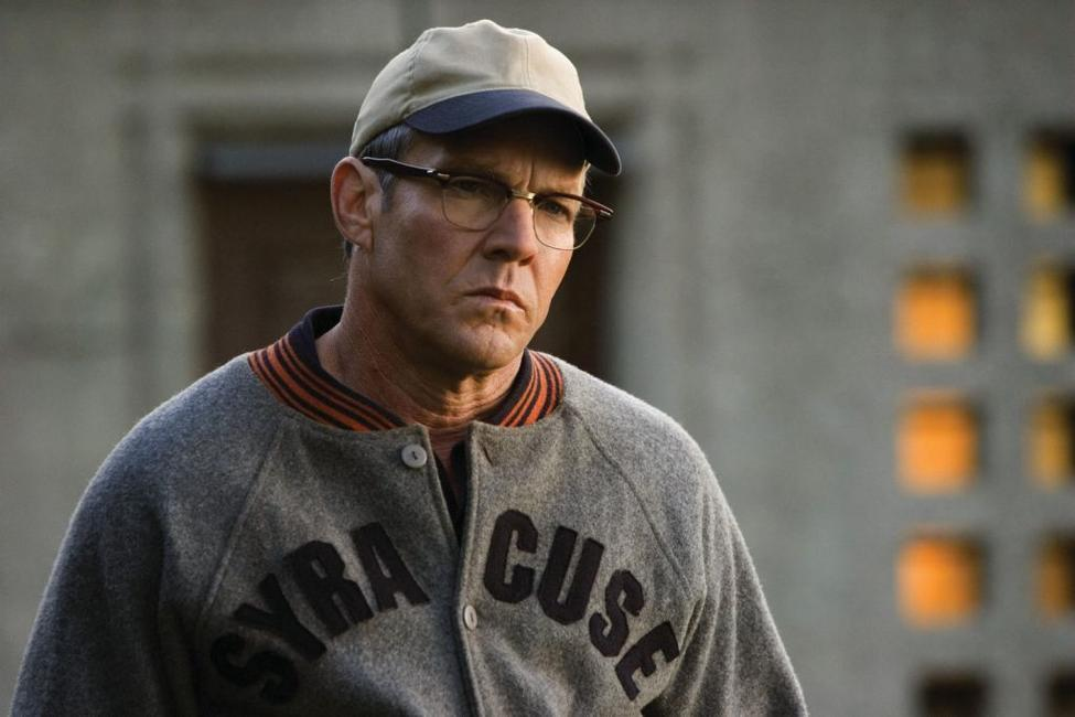 Dennis Quaid as Coach Ben Schwartzwalder in