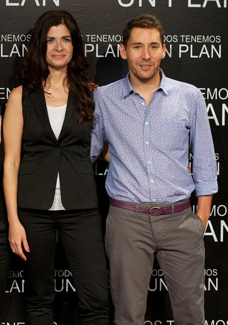 Soledad Villamil and Javier Godino at the Madrid photocall of
