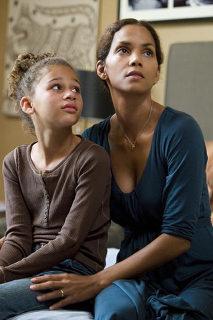 Alexis Llewellyn and Halle Berry in
