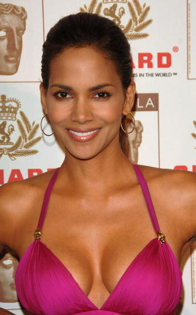 Halle Berry at the 15th Annual BAFTA awards.