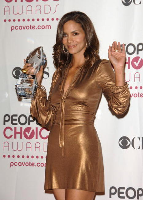 Halle Berry at the 33rd Annual People's Choice Awards.